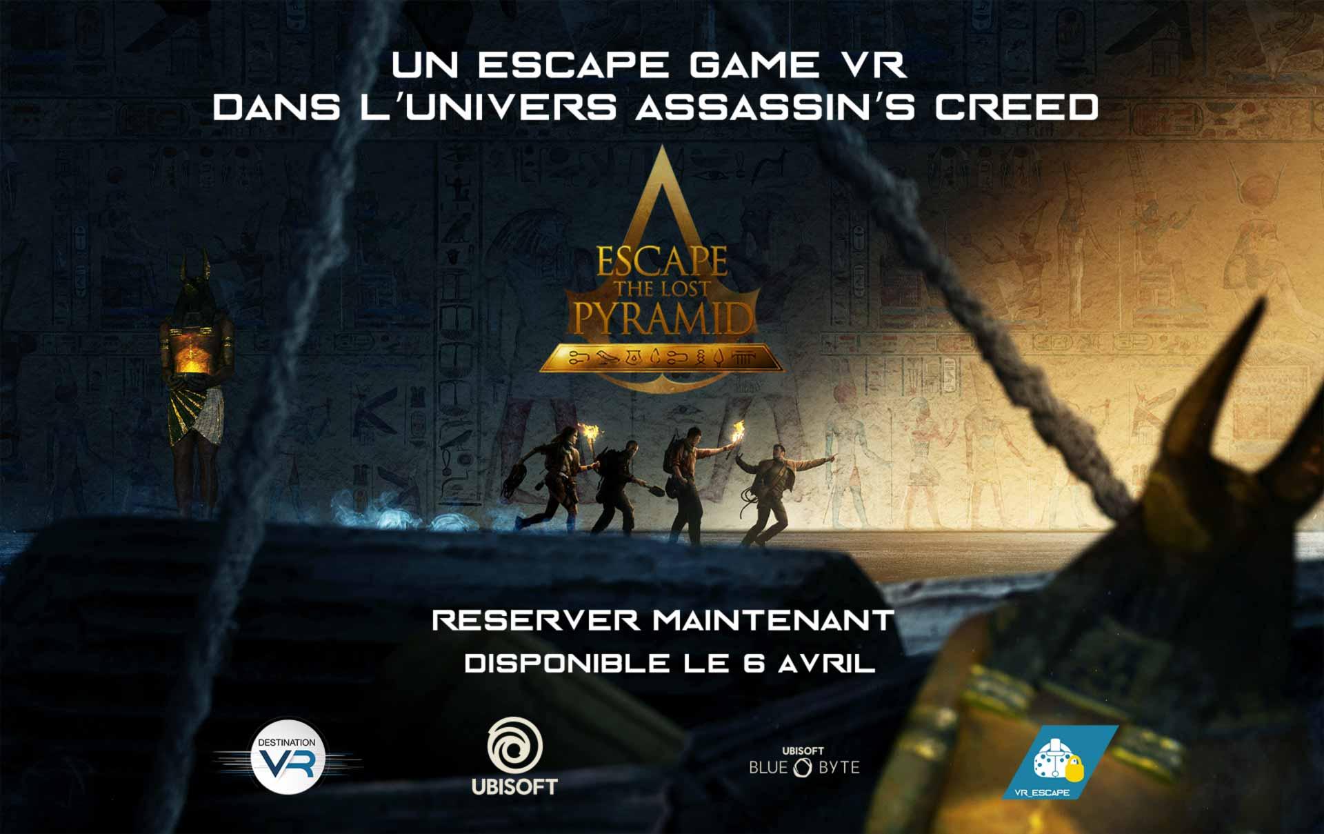 escape game realite virtuelle