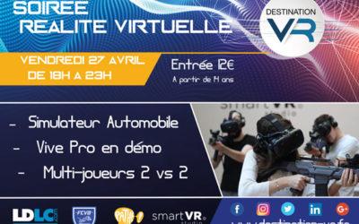 Destination VR fête ses 1 an – Soirée exceptionnelle au programme !