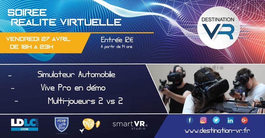 Soiree realite virtuelle