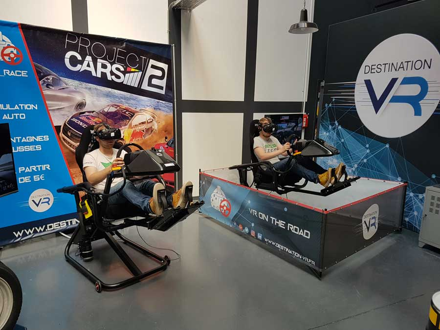 actualités réalité virtuelle simulateur auto vr