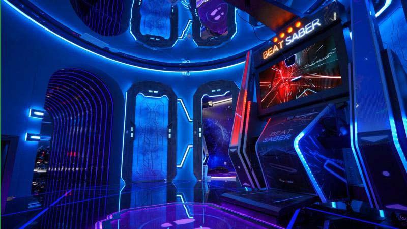 Beat Saber VR débarque sur borne d'arcade