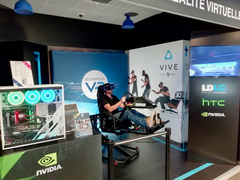 Location Simulateur Réalité Virtuelle