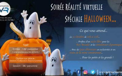 Fêtez Halloween en famille avec une soirée Halloween en VR !