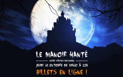 Manoir hanté : soirée Halloween en réalité virtuelle