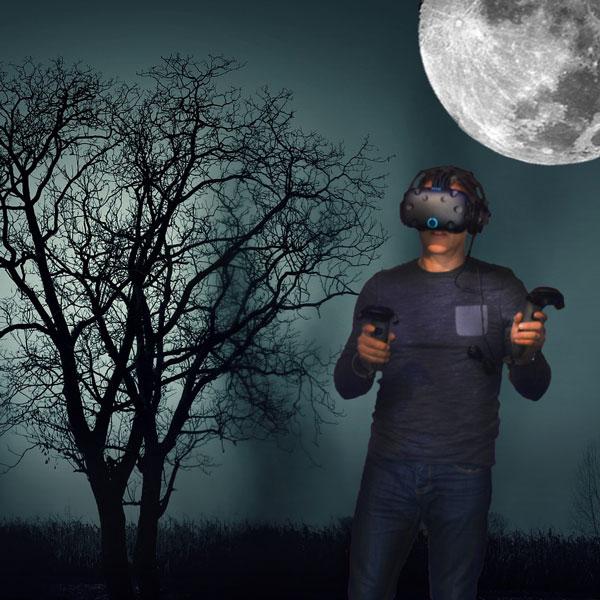 Halloween en réalité virtuelle